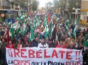Manifestaciones anticrisis ciudades