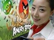 precargará Angry Birds serie smartphones Optimus
