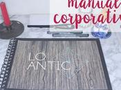 Diseño gráfico: Manual corporativo; antic. Parte
