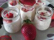 Copa mascarpone, Baileys fresas