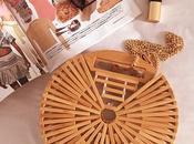 Sorteo bolso bambú moda, ahora puede tuyo fácilmente