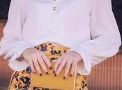 Yellow plastic skirt