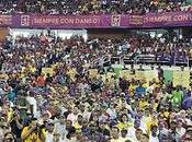 Abarrotado Palacio Deportes Virgilio Travieso Soto apoyo gobierno Danilo.