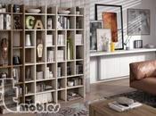 Descubre cómo decorar estanterías librerías modernas