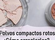 Cómo arreglar maquillaje polvo compacto roto