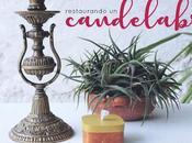 Restaurando candelabro