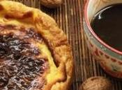 Flan parisién mermelada cereza