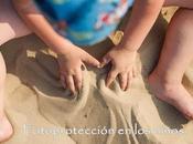 Protección solar niños