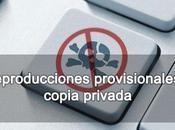 Reproducciones provisionales copia privada Propiedad Intelectual