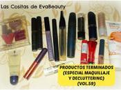 Productos Terminados (Especial Maquillaje Decluttering) (Vol.59)