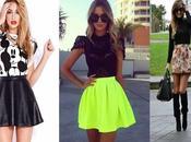 outfits faldas cortas