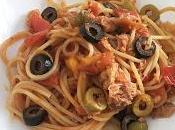Espaguetis atún