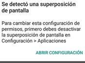 Superposicionamiento pantalla: Solución