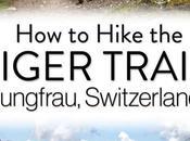 Cómo caminar sendero Eiger Oberland bernés, Suiza
