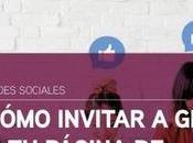 Cómo invitar gente página Facebook (sin amigos)