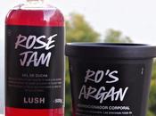 acondicionador cuerpo Lush, Rose Ro´s Argan, ¿merecen pena?