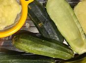 Zapallitos (calabacines) rellenos, receta vegetariana