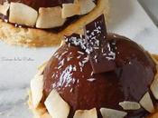 Semifrío Coco Glaseado espejo Cacao