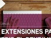 Extensiones para medir rendimiento