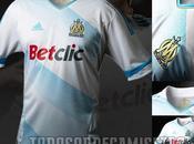Nuevos uniformes Adidas Olympique Marseille; temporada 2011-2012