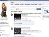 Shakira alcanza millones fans facebook