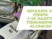 Recogida pienso para senda Gala» (Alcorcón)