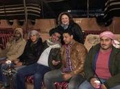 Wadi Rum.. hesicastas jedais, pasando beduinos.