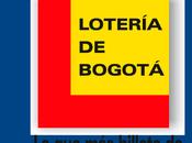 Lotería Bogotá agosto 2019