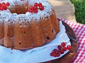 Bundt cake mermelada frambuesas grosellas