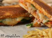 Emparedado (Sándwich) tomate queso