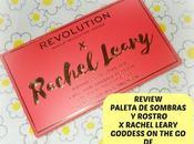 Review Paleta Rostro ojos Rachel Leary Goddess Makeup Revolution