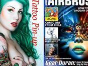 Participación airbrush step magazine
