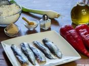 Receta coca pimientos asados sardinas (con masa esponjosa)
