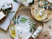 """línea """"Divine Olive"""" JEANNE PROVENCE hidratando protegiendo piel verde Provenza"""