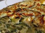 Tortilla calabacín cebolla