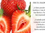 Fruta madura.