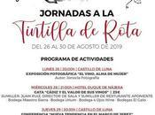 JORNADAS TINTILLA ROTA 2019: 26-31 agosto 2019 Rota
