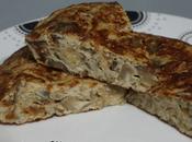 Tortilla berenjena cebolla