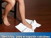Artricenter: Ejercicios para espolón calcáneo.