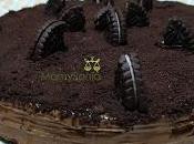 Tarta obleas crema cacao galletas oreo( tarta huesitos)
