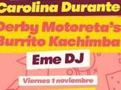 Love Lesbian, Viva Suecia, Carolina Durante, Derby Motoreta's Burrito Kachimba primer concierto Music Week Sevilla
