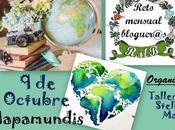 """Invitación Reto Mensual Bloguer@s """"Mapamundis"""""""
