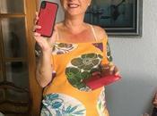 Funda Tarjetero para iPhone piel. Dreem. Rojo