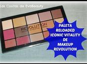 Review Paleta RELOADED ICONIC VITALITY Makeup Revolution