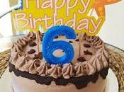 Tarta Cumpleaños Chocolate Lácteos