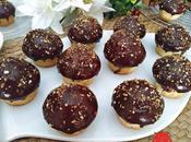 Magdalenas Cobertura Chocolate Crocanti