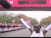 final Kipchoge bajó horas maratón!