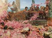 rosas antigua Roma. utilización