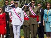 Reyes Príncipes Asturias presidieron Málaga Fuerzas Armadas. look Dña. Letizia