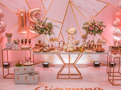 ideas para cumpleaños #15Th Rose Gold Party